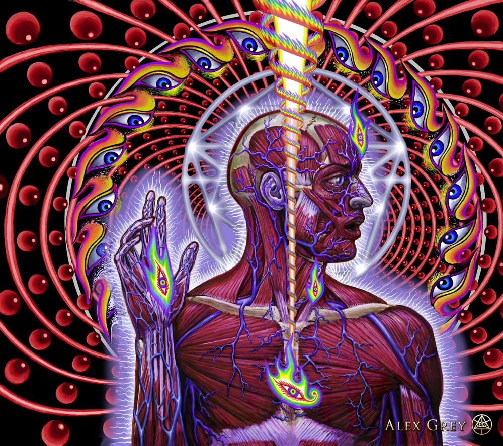 If you do enough drugs, you can become as successful as Alex Grey.