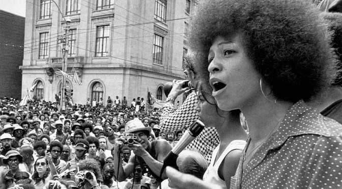 Alabama Goes Red: State Honors Angela Davis