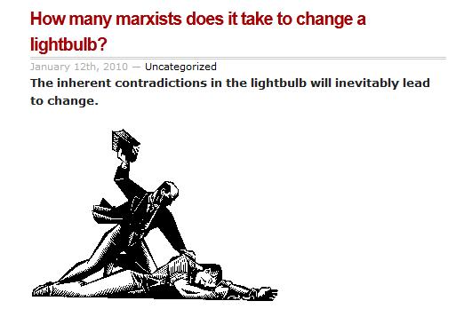 Marxist Lightbulb Joke