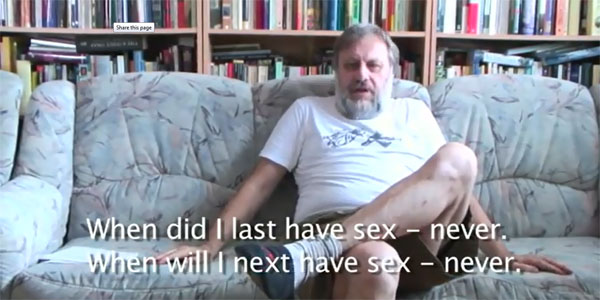 Zizek Likes Cuddling. The Art of Leninist Hugging