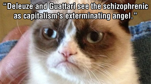 Deleuze and Guatarri Exterminating Angel