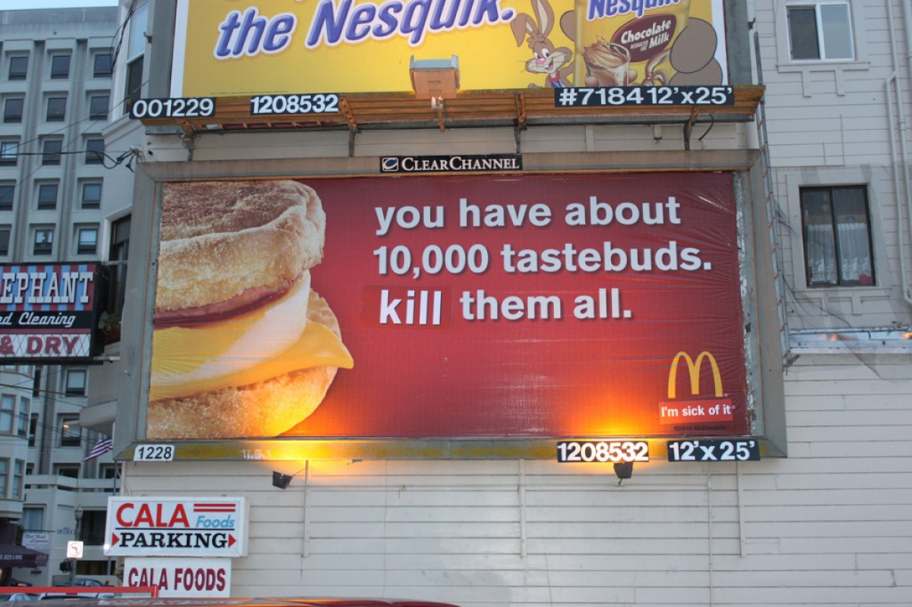 Culture jamming is heavily influenced by Situationism