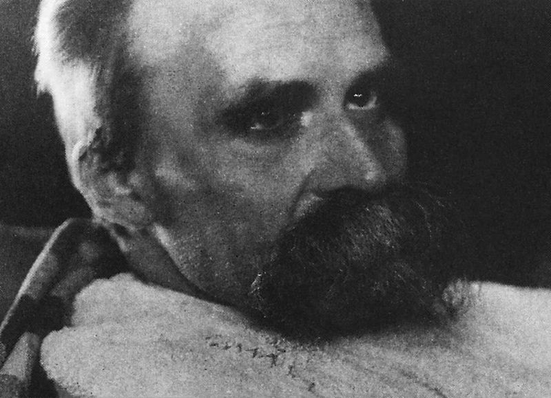 Nietzsche one year before his death