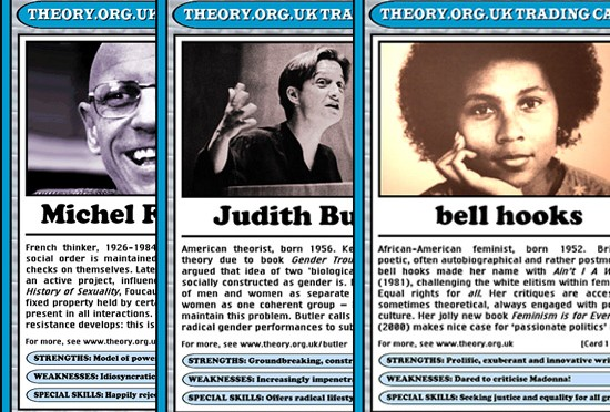 Critical Theory Trading Cards: Commodify Them All