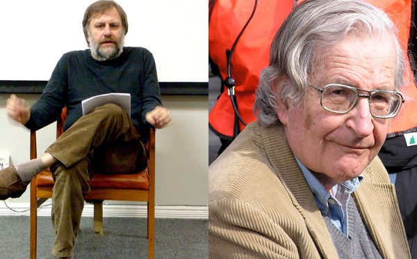 Did Noam Chomsky Just Accidentally Provide a Warranted Response to Zizek?