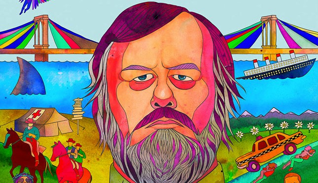 The Poster Art for Zizek's New Movie is Awesome