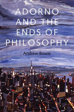 adorno ends of philosophy