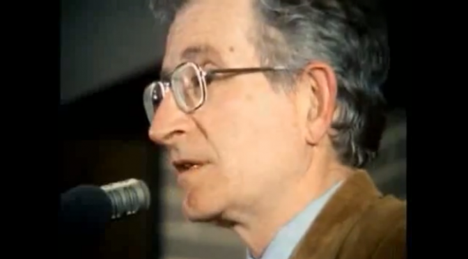 Watch 'Manufacturing Consent: Noam Chomsky and the Media' on YouTube