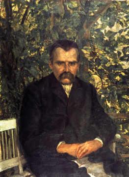 Friedrich Nietzsche / Stoeving - Nietzsche / Paint.by Stoeving / c.1890 - Friedrich Nietzsche / Stoeving