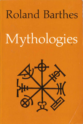 Barthes - Mythologies