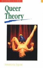 Jagose Queer Theory an Introduction