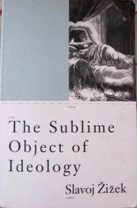 The Sublime Object of Ideology Zizek