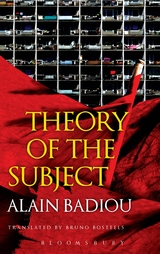 Theory of the Subject Badiou