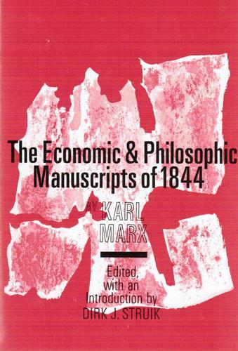 economic philosophical manuscripts marx