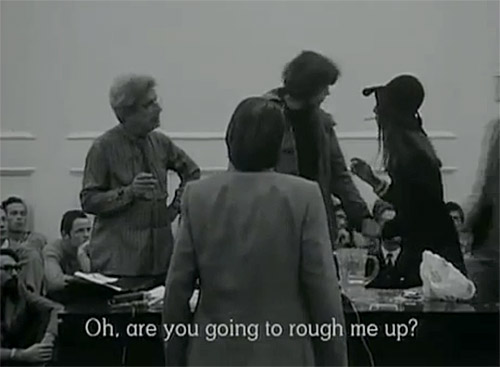 Watch Lacan Get Trolled by Student in 1972