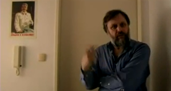 Watch: A Tour of Slavoj Zizek's Apartment