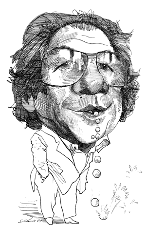 baudrillard caricature