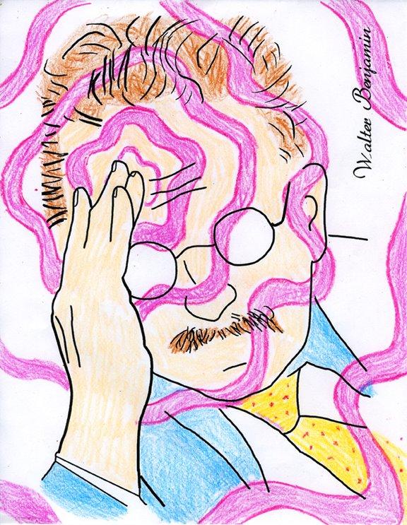 benjamin coloring book psychic