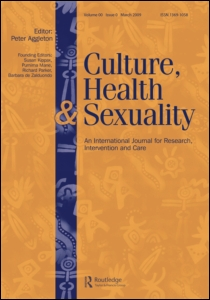 Submit Your Papers: Culture, Health and Sexuality