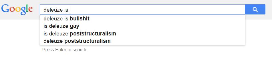 deleuze google