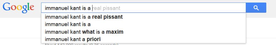 kant google