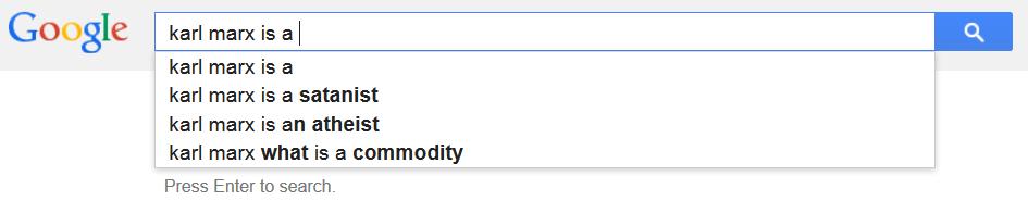 karl marx google