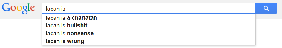 lacan google
