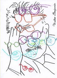 walter benjamin coloring book