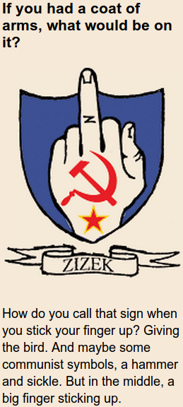 zizek coat of arms