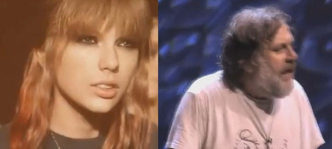 Taylor Swift and Zizek, Now a Mash-Up