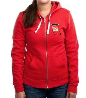communist party hoodie 2