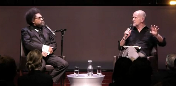 Watch: Cornel West and Simon Critchley Talk Religion, Politics and Violence