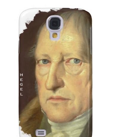 hegel phone case