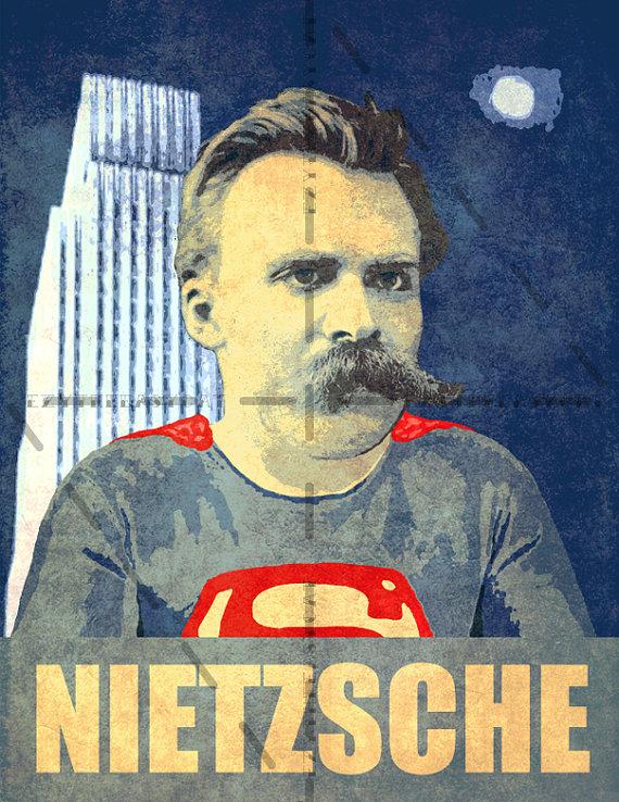 nietzsche superman poster