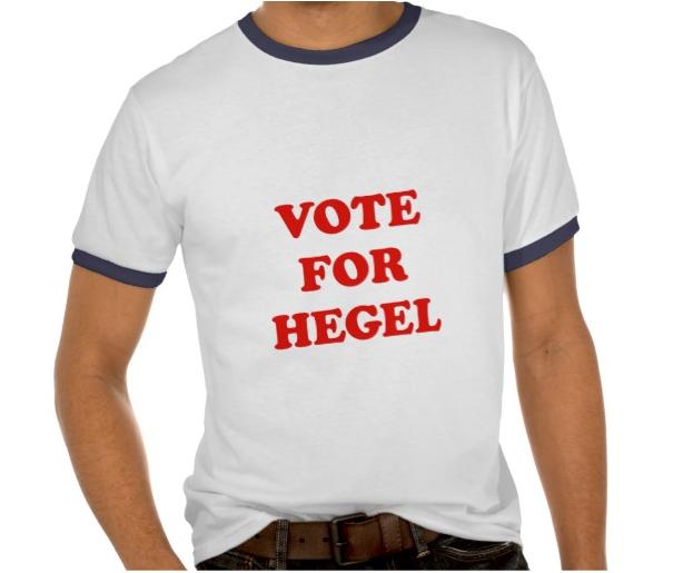 vote for hegel