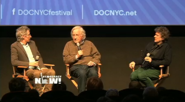 Noam Chomsky – 'I Have Absolutely No Professional Credentials'