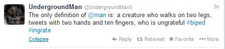 tweets from underground 1