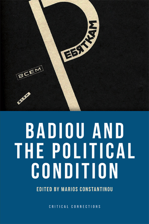 badiou and the political condition