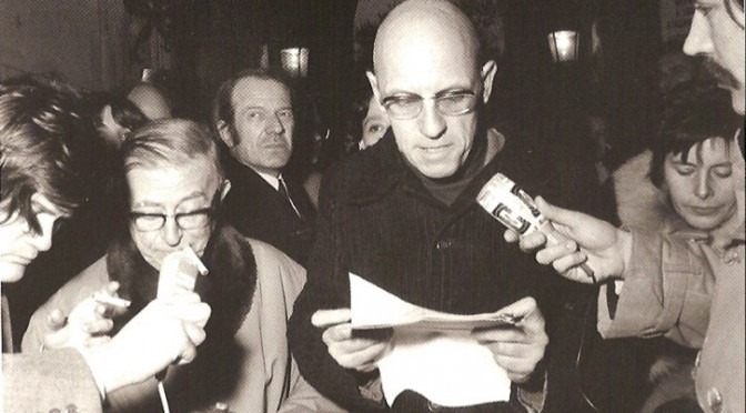 43 Years Ago Today: Foucault's Statement on French Prisons