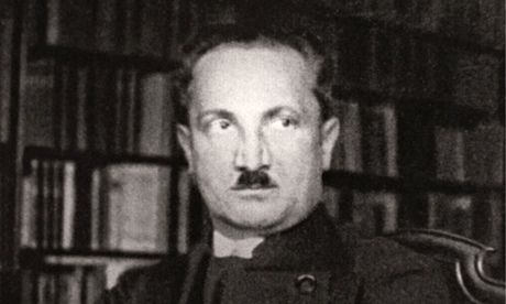 Martin Heidegger in 1933, when the philosopher had already joined the Nazi party.