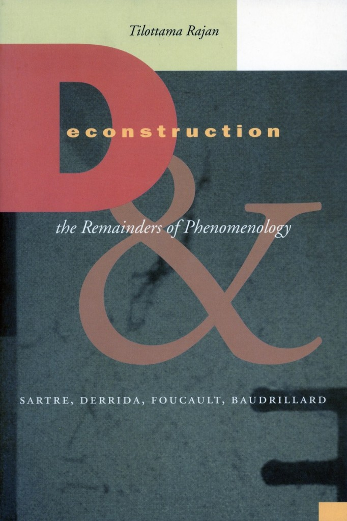 deconstruction the remainders of phenomenology
