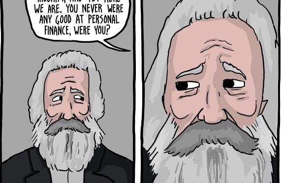 [Comic] Marx, Nietzsche and Freud Play Monopoly