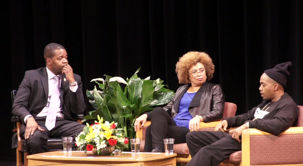 Watch Angela Davis and Nas Discuss the Prison-Industrial Complex