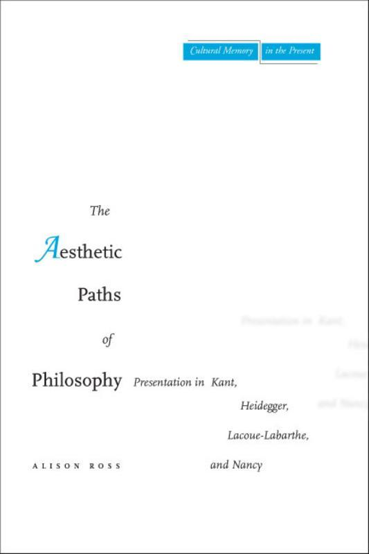 the aesthetic paths of philosophy