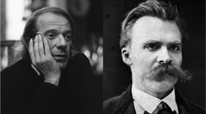 """Nietzsche's Burst of Laughter,"" Interview with Gilles Deleuze"
