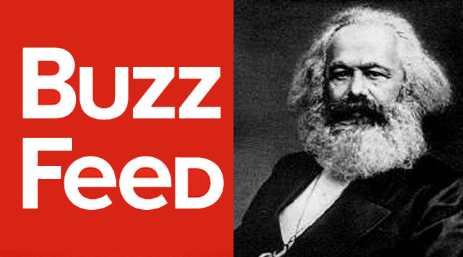 """BuzzFeed Founder Responds to His Marxist Roots, """"Lol"""" 