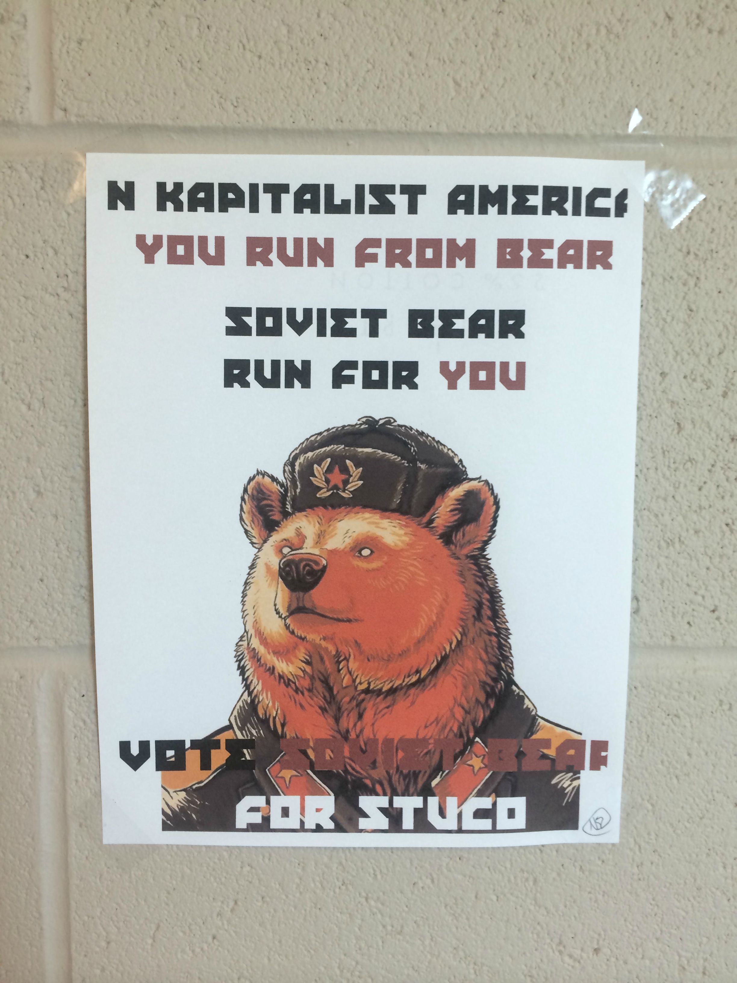 how to run a school presidential campaign