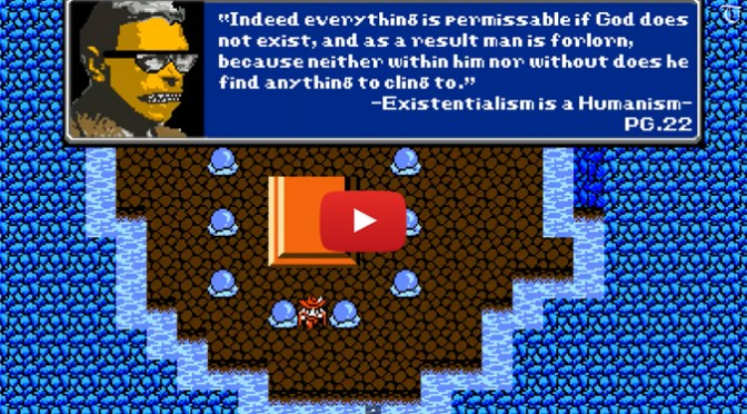 Watch Sartre's Free Will and Bad Faith, 8-Bit Philosophy