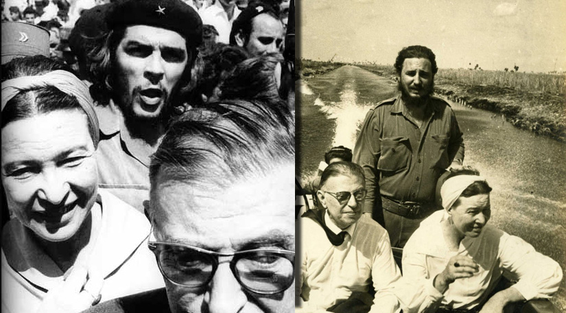 sartre and beauvoir in cuba featured