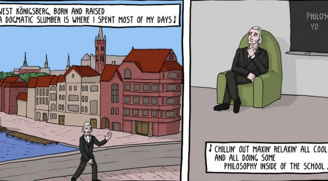 Immanuel Kant: Fresh Prince of Philosophy [Comic]